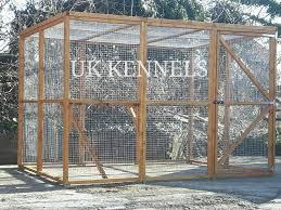 wooden outdoor cat enclosures