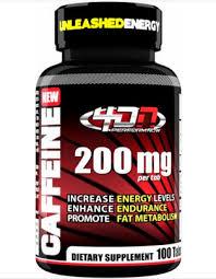 4 dimension nutrition caffeine 100