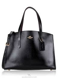 coach crossgrain patent leather charlie