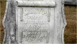 Mary Priscilla McDonald Myers (1841-1883) - Find A Grave Memorial