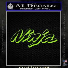Kawasaki Ninja Decal Sticker D1 A1 Decals