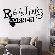 Reading Corner Wall Decal Library Decoration Self Adhesive Vinyl Art Wall Sticker School Calssroom Home Decor Wall Murals Y432 Wall Stickers Aliexpress