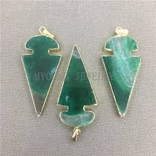 my0311 green arrow shape lace onyx