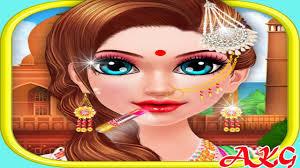 indian makeup and dressup games 2017