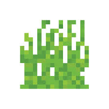 Pixel Grass Wall Decal 4 Sizes By Inkwood Impressions On Zibbet
