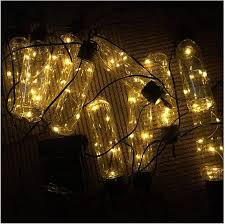 Amazon Com Solar String Lights Outdoor Led Solar Powered Fairy Lights Fence Lights Waterproof Decorative Lighting For Patio Garden Yard Party Wedding White Toys Games