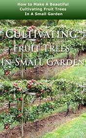 cultivating fruit trees in small garden