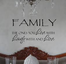 Family Ones You Live Laugh Love Wall Decals Trading Phrases