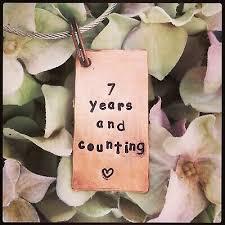 wedding anniversary copper gift husband