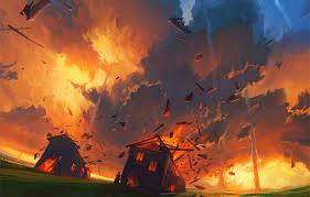 wallpaper fire flame apocalypse