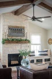 hottest screen stone fireplace cottage