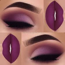 flawless purple makeup pictures photos