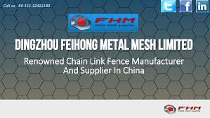 Chain Link Fence Manufacturer And Supplier In China Wire Mesh Fansa