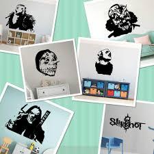Corey Taylor Slipknot Wall Decal Fans Bedroom Super Star American Heavy Metal Music Wall Sticker Living Room Vinyl Home Decor Wall Stickers Aliexpress