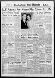Star Phoenix From Saskatoon Saskatchewan Canada On November 5 1954 1
