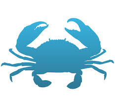 Crab Decal Custom Crab Shaped Window Sticker