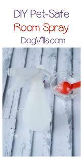 essential oil deodorizer spray recipe
