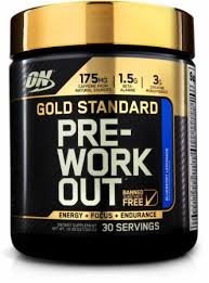 pre workout by optimum nutrition