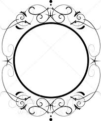 mirror clipart black and white