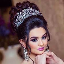 arabic bridal makeup and hairstyles