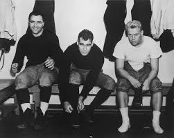 File:Gerald Ford, James DeAngelis and Ivan Williamson get ready for  practice at Yale 29-0519M.JPG - Wikimedia Commons