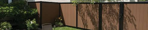 Freedom Ready To Assemble Artisan 6 Ft H X 6 Ft W Brown Aluminum Flat Top Privacy In The Metal Fence Panels Department At Lowes Com