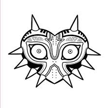 Excited To Share The Latest Addition To My Etsy Shop The Legend Of Zelda Majora S Mask Vinyl Decal Sticker Vinyl Decals Vinyl Decal Stickers Video Game Logos