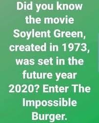 Afbeeldingsresultaat voor soylent green