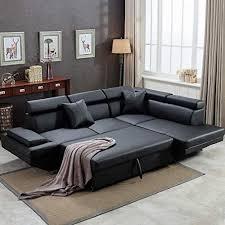corner sofa set 2 piece modern