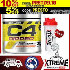 cellucor c4 ripped 30srv pre workout