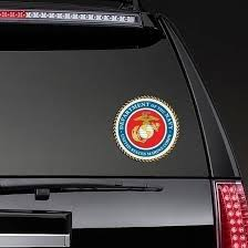 Marine Seal Department Of The Navy Sticker