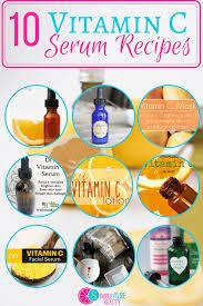 diy vitamin c serums lotions