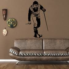 Skiing Wall Decal Vinyl Decal Car Decal Bl022