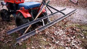 3pt leaf rake home made you