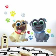 Roommates Puppy Dog Pals 13 Piece Vinyl Wall Decal Set Bed Bath Beyond