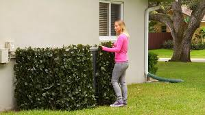 Verseo Faux Ivy Greenery Yard Decoration Ivy Hedge Privacy Screen Expandable 2 Pack Verseo