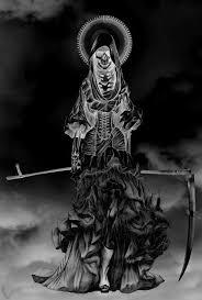 Pin by MR F on Grim   Apocalypse art, Dark photography, Santa muerte
