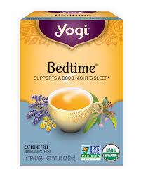 bedtime tea yogi tea