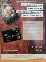 hsbc premier world world elite