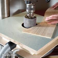 building a drum sander table diy
