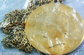 gold tone metal caesars palace las
