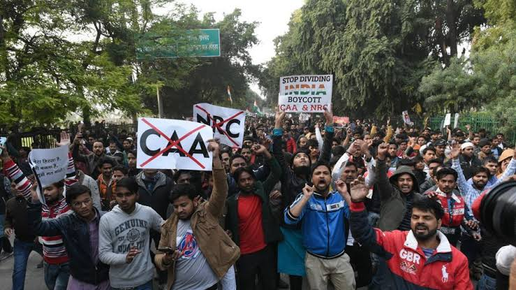 Image result for caa protest