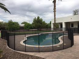 Mesh Pool Fences Safe Durable Heat Resistant Arizona Pool Fence