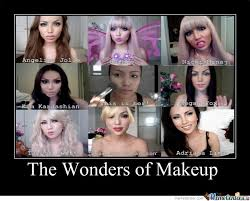 why dont wear makeup es esgram