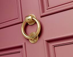add kerb appeal with a new pink front door