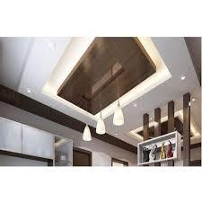 living room gypsum false ceiling