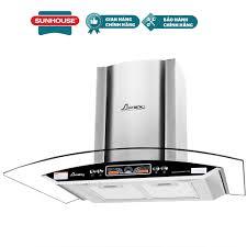 Máy hút mùi kính cong Apex APB6601-70C (Inox) - Hút và khử mùi với công  suất lớn 1100m³ /h - Hàng chính hãng Sunhouse bảo hành 18 tháng