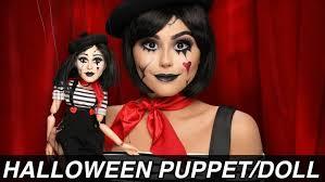 puppet doll makeup tutorial
