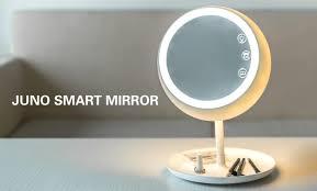 first intelligent makeup mirror