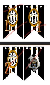 Kit Imprimibles Juventus Para Cumpleanos 85 00 En Mercado Libre